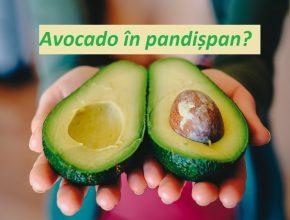 avocado in prajitura