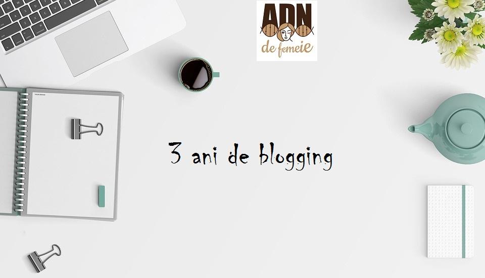 3 ani de blog