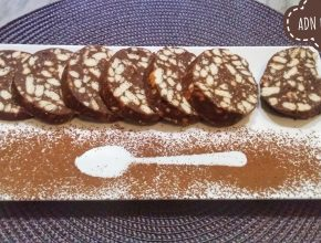 Salam de biscuiţi tropical