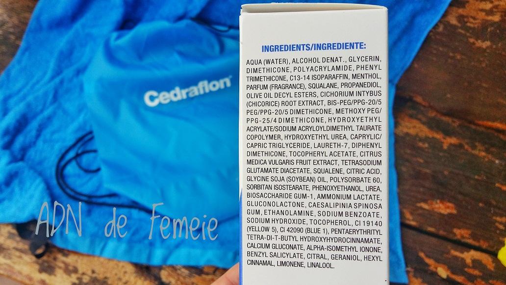 cedraflon ingrediente