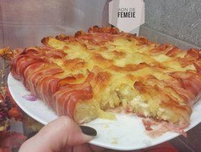 tarta aperitiv cu bacon